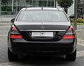 Mercedes-Benz S 320 CDI 4MATIC L (V 221) – Heckansicht (4), 30. August 2011, Düsseldorf.jpg