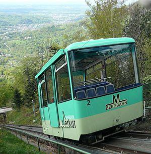 Merkur (mountain) - Image: Merkurbahn 2c