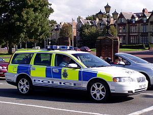 Merseyside Police Volvo