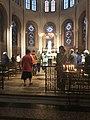 Messe à la chapelle de la Sainte-Vierge communion.jpg