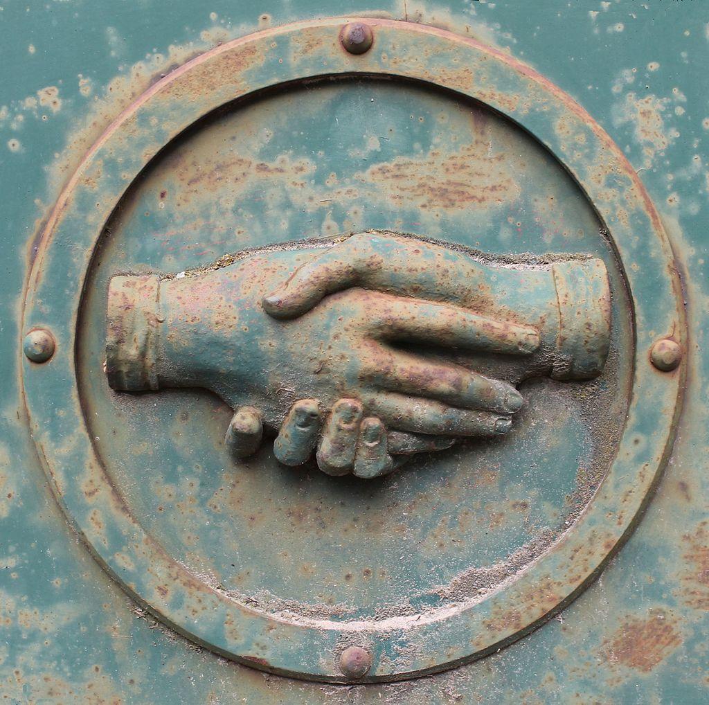 Metal Handshake