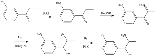 Metaraminol synthesis.png