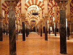 The 10th-century Grand Mosque of Cordoba.