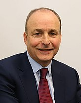 Ierse premier Micheál Martin (FF)