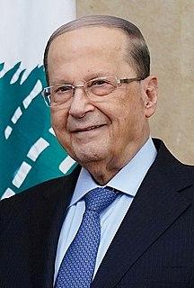 President of Lebanon Head of state of Lebanon