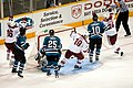 Mike York scores a power play goal on Nabokov (2125905113).jpg