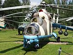 Mil Mi-24 at Central Air Force Museum pic2.JPG