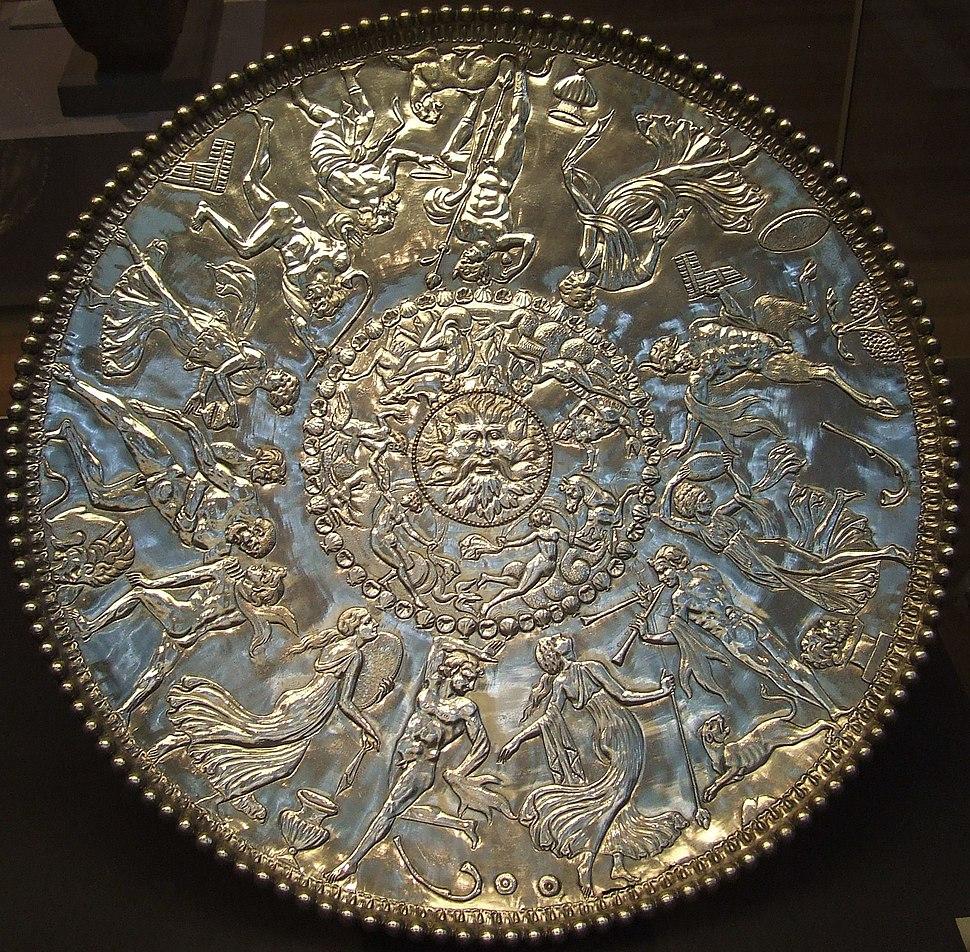 Mildenhall treasure great dish british museum