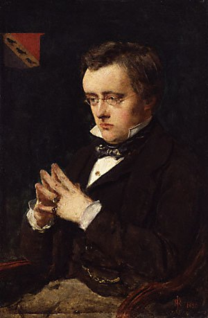 Wilkie Collins - Portrait by John Everett Millais, 1850