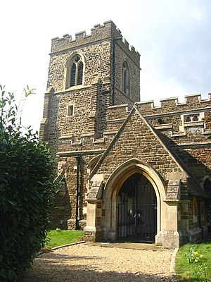 Millbrook, Bedfordshire - Image: Millbrook Church geograph.org.uk 154152