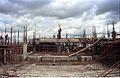 Mini Auditorium Under Construction - Convention Centre Complex - Science City - Calcutta 1994-10-07 1044.JPG