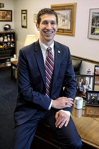 Jeremy Miller (politician) - Image: Minnesota State Senator Jeremy Miller