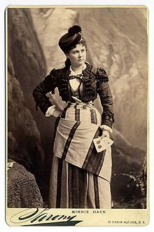 Minnie Hauk - Wikipedia