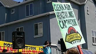 Climate justice - Rally for climate justice (2009).
