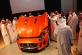 Mohammed Yousuf Naghi Motors unveils Jaguar F-TYPE in Jeddah, KSA (9005509444).jpg