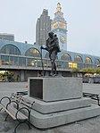 Mohandas K. Gandhi statue, San Francisco (2013) - 4.JPG