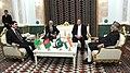 Mohd. Hamid Ansari with the President of Turkmenistan, Mr. Gurbanguly Berdimohamedov, the President of Afghanistan, Mr. Ashraf Ghani and the Prime Minister of Pakistan, Mr. Nawaz Sharif, in Mary, Turkmenistan.jpg