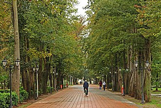 Rasht - Mohtasham Park in Rasht City