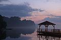 Molo spacerowe i Amfiteatr na Jeziorze Sępoleńskim 04.jpg