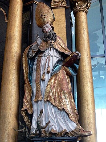 File:Mondsee Kirche - Johannesaltar St.Hilarius.jpg