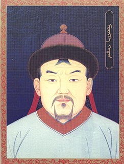 Fourth Great Khan of the Mongol Empire