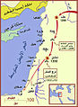 Mongol raids into Syria and Palestine ca 1300 Ar.jpg
