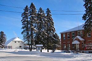 Mont-Saint-Michel, Quebec - Mont-St-Michel municipal hall