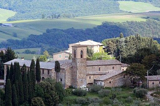 Il convento dell'Osservanza, Montalcino