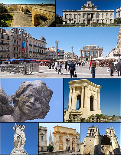 Views of Montpellier