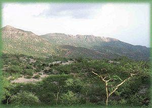 Monts Mabla Djibouti