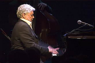 2006 in jazz - Monty Alexander at Ronnie Scotts Jazz venue, London 2006.
