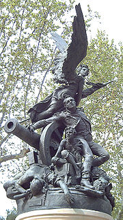 The Heroes of the Second of May memorial, Madrid