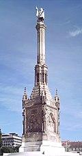 Monumento a Colón, en Madrid (Com. de Madrid).