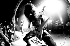 Morbid Angel live in Toronto in 2006.