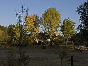 Mormon Bar, California - A standalone house at Mormon Bar