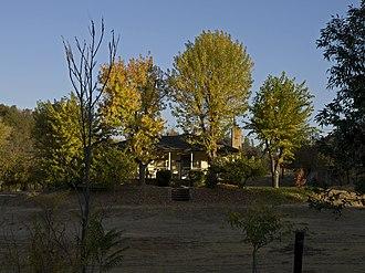 California Historical Landmarks in Mariposa County, - Image: Mormon Bar Mariposa