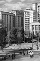 Moscow, Aleksandrovsky Garden, State Duma and Moskva Hotel 1 BW.jpg
