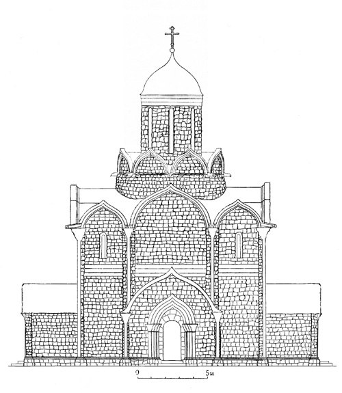 Moscow Kremlin AssumptionCathedral Reconstruction Zagraevsky