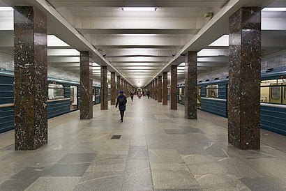 How to get to Речной Вокзал with public transit - About the place