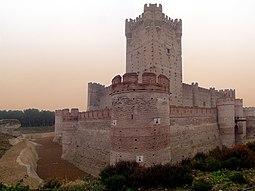 Vista Panorámica del Castillo de La Mota
