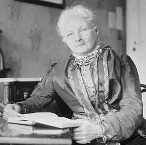 "Mary Harris Jones - Jones was denounced on the floor of the U.S. Senate as the ""grandmother of all agitators."""
