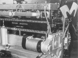 """Hispano-Argentina - The Hispano–Argentina """"Criollo"""" motor"""