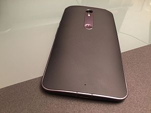 Moto X Style - Image: Motorola Moto X Style (22033955888)