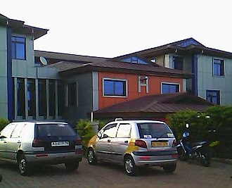 Techiman - Mount Olives, one of two general hospitals in Techiman, opened in 2012.