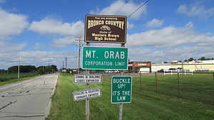 Mount Orab, Ohio - Image: Mount Orab OH1