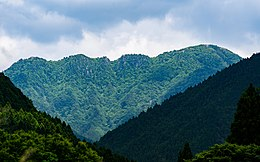 Mount Sanjo in the rainy season.jpg