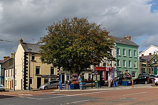 Moville Town in Ulster, Republic of Ireland