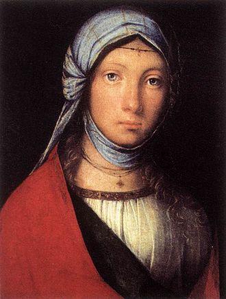 Boccaccio Boccaccino - Gypsy Girl by Boccaccio Boccaccino, Uffizi, 1504-5