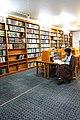 Mufti, Akhoond, Clergy, Mullah عکس از کتابخانه علوم قرآنی در قم، طلبه های علوم دینی.jpg