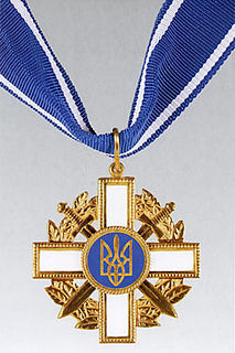 Order for Courage Award